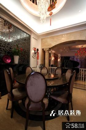 欧式整体小餐厅装修效果图