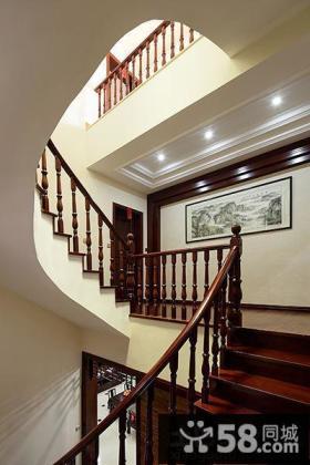 美式设计室内楼梯图片大全