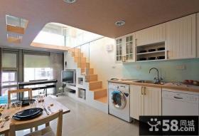 小户型创意简约设计厨房效果图