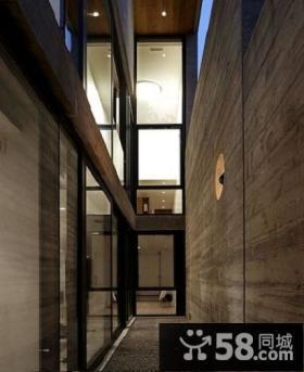 时尚现代别墅过道设计效果图