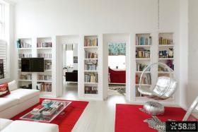 复式楼书房装修设计图