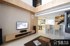 宜家装修设计客厅电视背景墙效果图大全