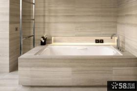 简约风格浴室装修效果图欣赏