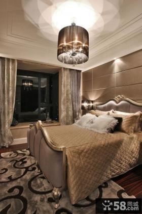 欧式新古典装修时尚卧室效果图