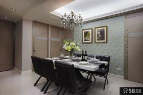 现代家装室内餐厅效果图大全