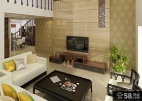 现代中式装修 现代中式风格装修电视背景墙