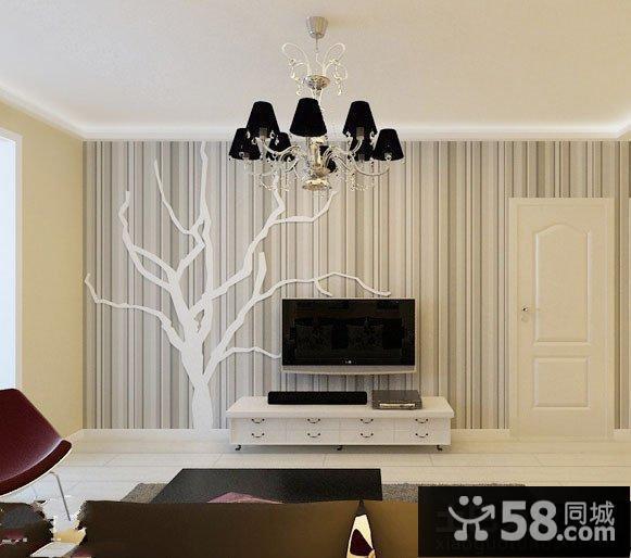 壁纸电视背景墙装修效果图大全2015图片