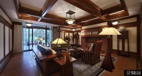 古典欧式风格高档别墅室内装修效果图大全