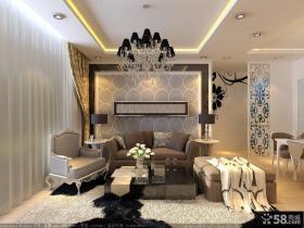 优质欧式客厅吊顶装修效果图大全2013图