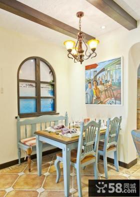 餐厅墙上装饰画效果图片欣赏