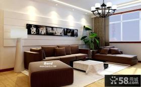 小户型客厅装修效果图大全2014图片