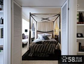 豪华现代欧式风格装修效果图卧室图片