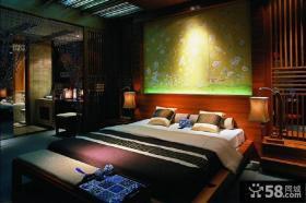中式古典卧室榻榻米装修效果图