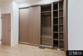 日式家装室内卧室衣柜图片