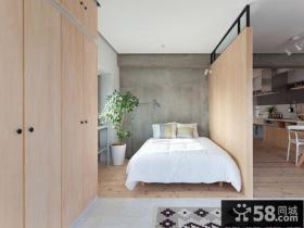 日式温馨小户型卧室装饰效果图片