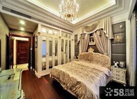 欧式豪华卧室吊顶欣赏