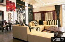 简约新中式别墅家装案例