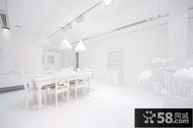 简约风格餐厅吊顶装修效果图大全2013图片