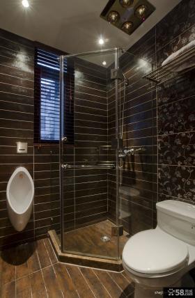 干湿分离卫生间淋浴室装修效果图