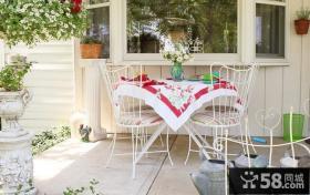 花园小阳台装修效果图欣赏