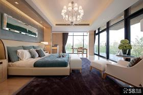 三层别墅卧室效果图