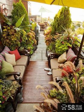 阳台花园设计实景图欣赏