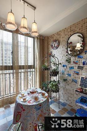 家庭小阳台改造装饰