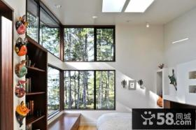 140万打造宜家简约风格卧室飘窗装修图片