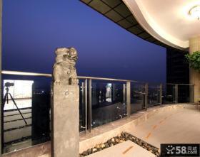 中式家居阳台装修