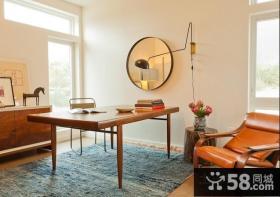 90平米房屋装修效果图简约书房