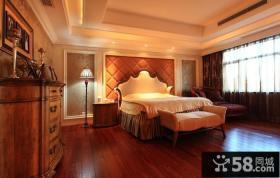 丽滩别墅豪华欧式风格卧室装修效果图大全2014图片