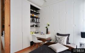 简约风格卧室家具简单装修设计