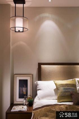 优质简约风格卧室床头灯具效果图