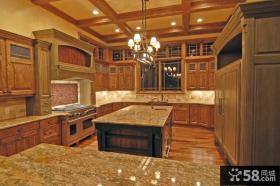 别墅大厨房设计图片欣赏