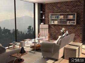 别墅小客厅宜家风格装修效果图