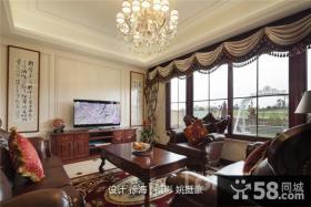客厅电视墙装修效果图欣赏