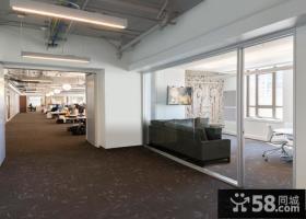 现代办公室简约风格装修设计