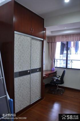 卧室实木衣柜图片欣赏