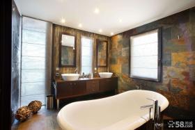 优质别墅卫生间装修效果图大全2013图片