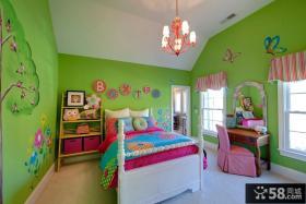 儿童房间装修设计效果图大全2013