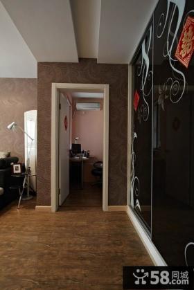 客厅玄关装修效果图片