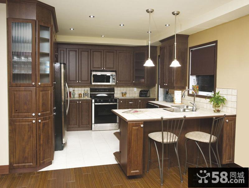 厨房隔断装修效果图大全2015图片