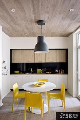 时尚开放式家庭厨房设计