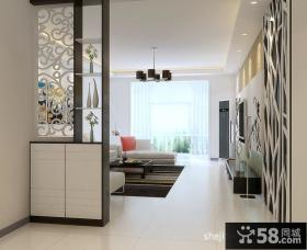 客厅室内玄关设计图片