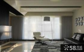 家庭创意风格客厅电视背景墙图片欣赏