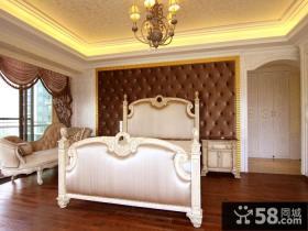 欧式风格简装卧室装修效果图