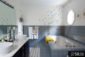 卫生间瓷砖设计效果图大全