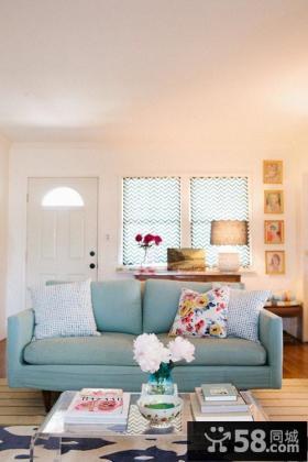 60平小户型客厅装修效果图欣赏