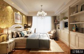 欧式家居主卧室装修设计图