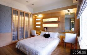 美式风格卧室装修图2015